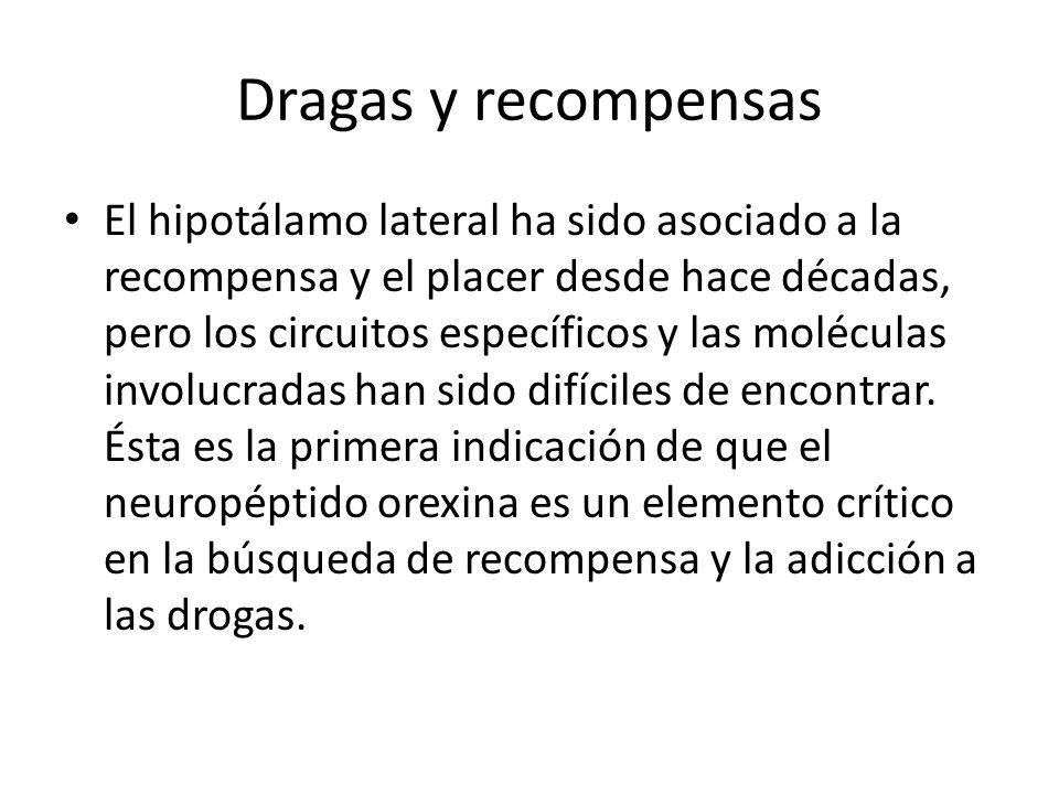 Dragas y recompensas