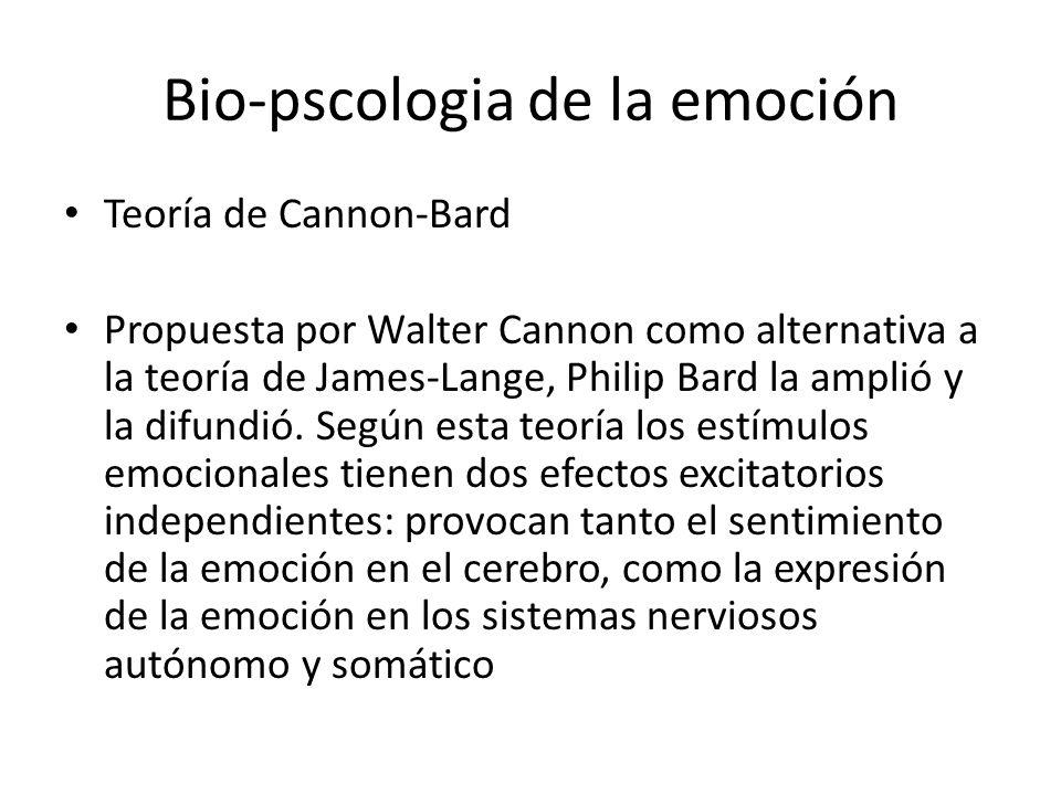 Bio-pscologia de la emoción