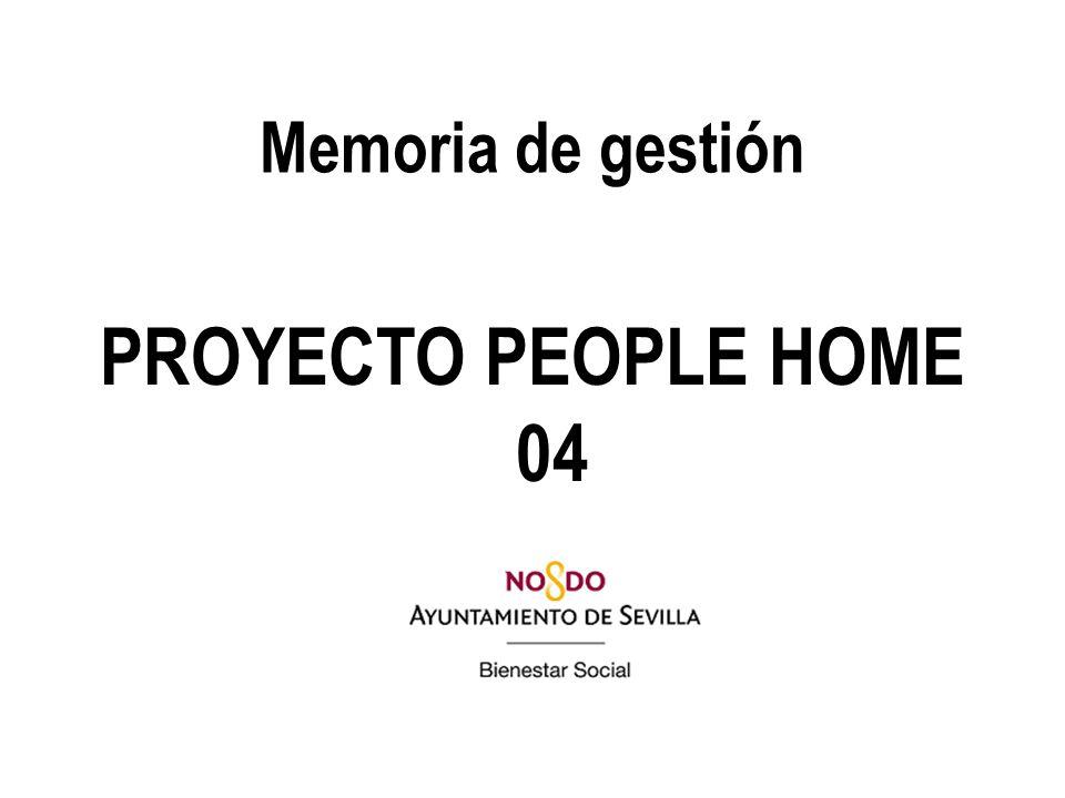 Memoria de gestión PROYECTO PEOPLE HOME 04