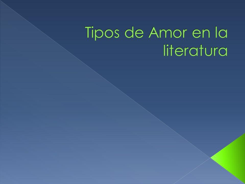 Tipos de Amor en la literatura