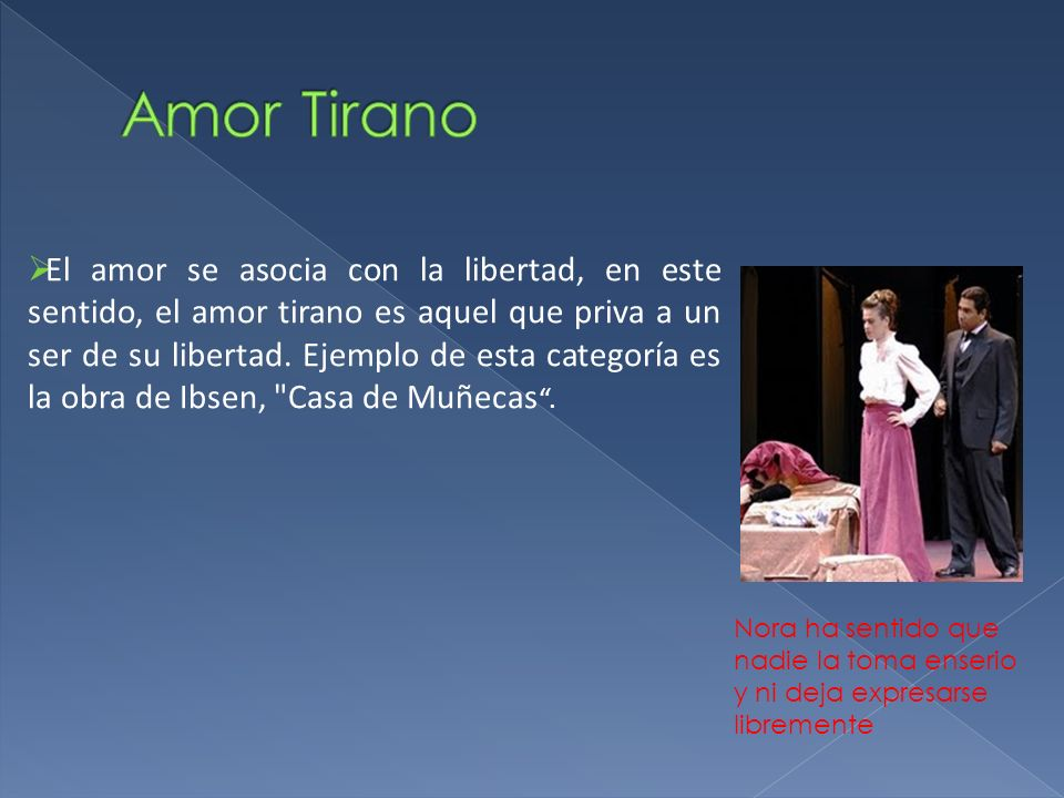 Amor Tirano