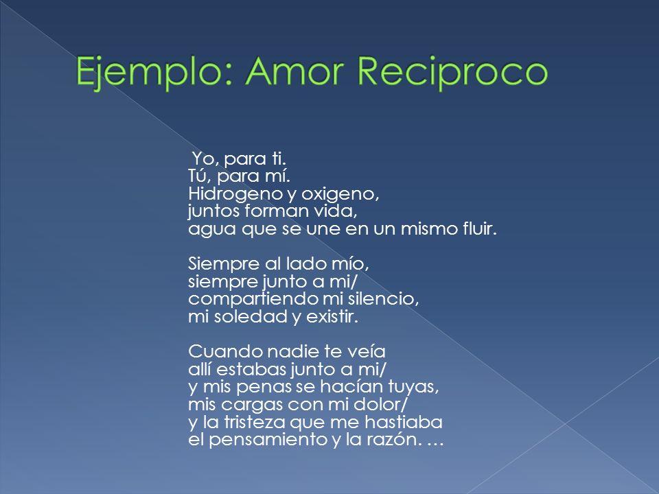 Ejemplo: Amor Reciproco