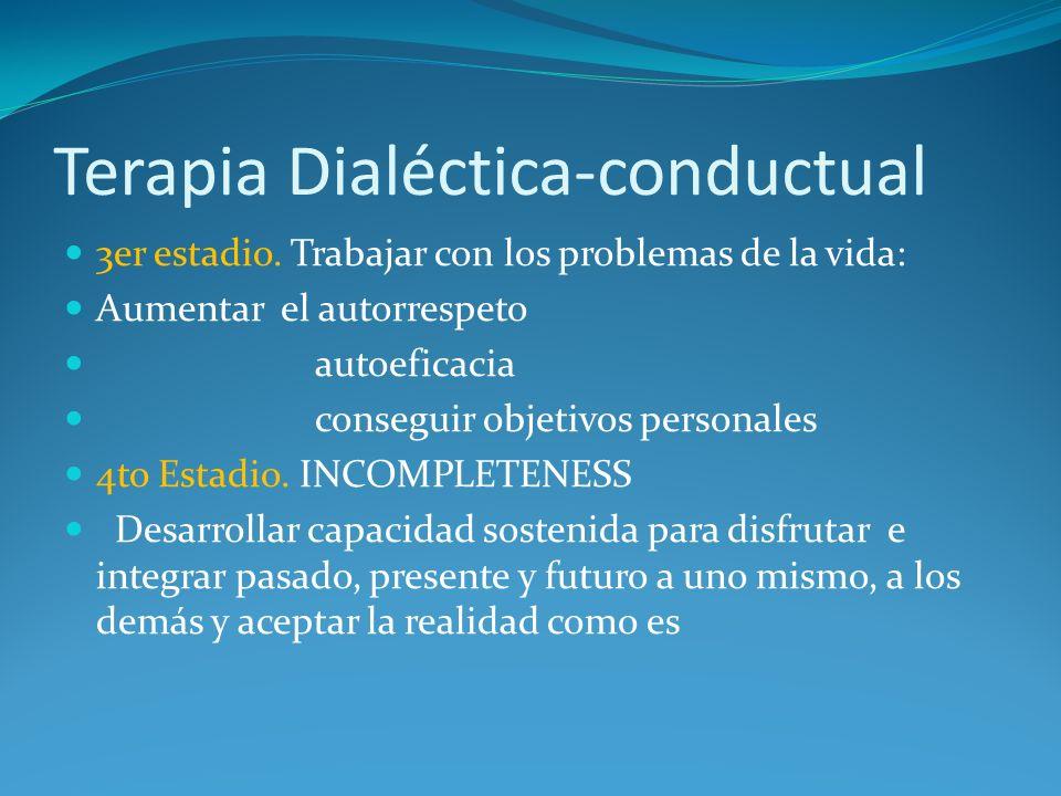 Terapia Dialéctica-conductual