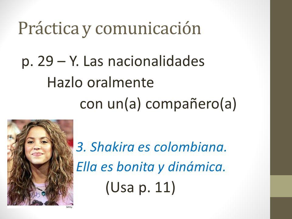 Práctica y comunicación