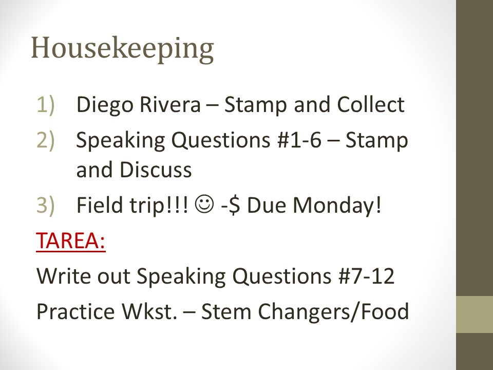 Housekeeping Diego Rivera – Stamp and Collect