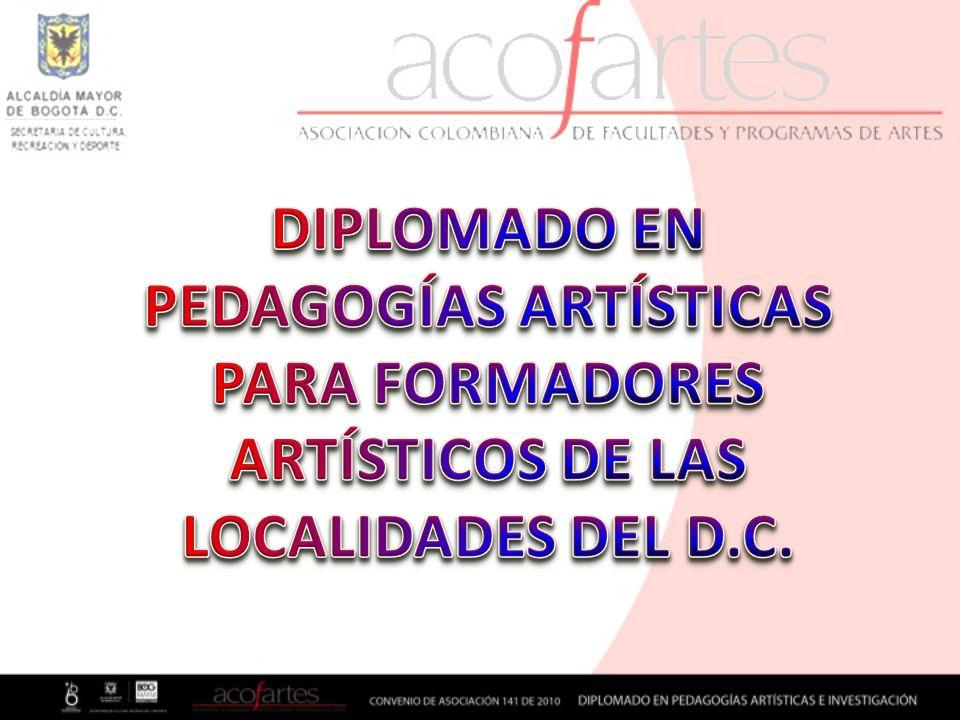 DIPLOMADO EN PEDAGOGÍAS ARTÍSTICAS