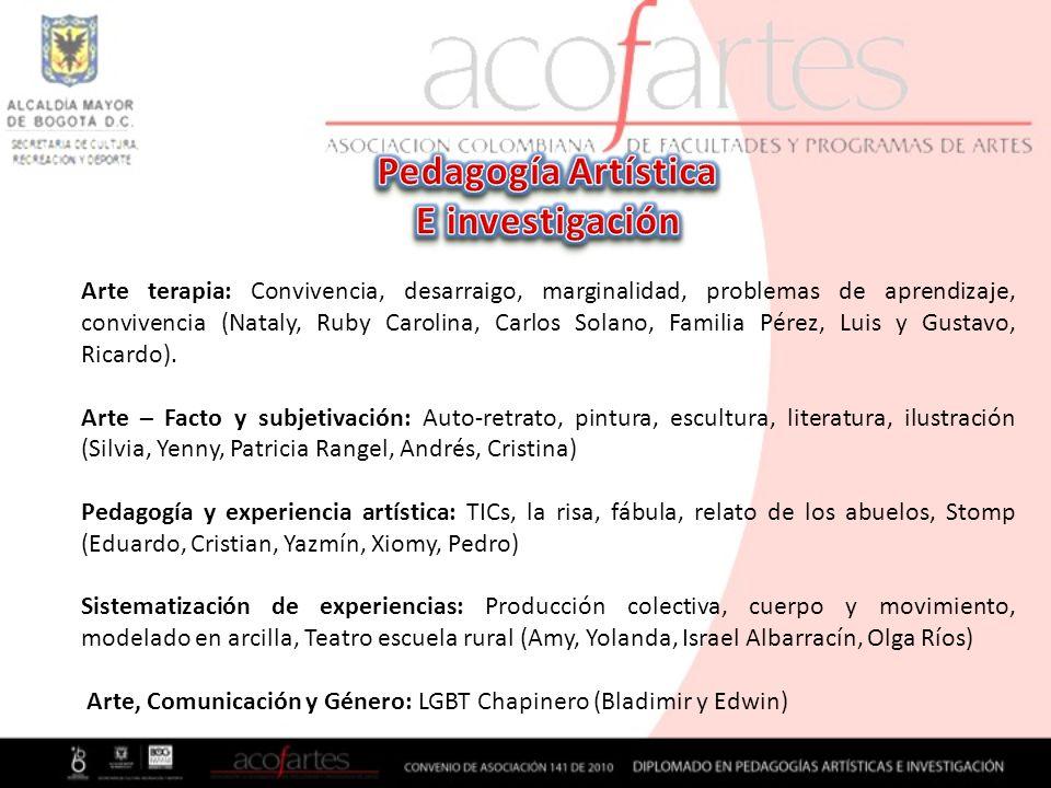 Pedagogía Artística E investigación