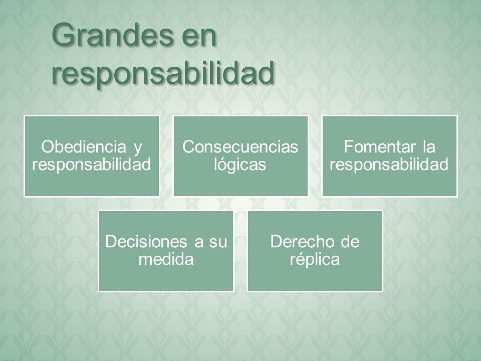 Grandes en responsabilidad
