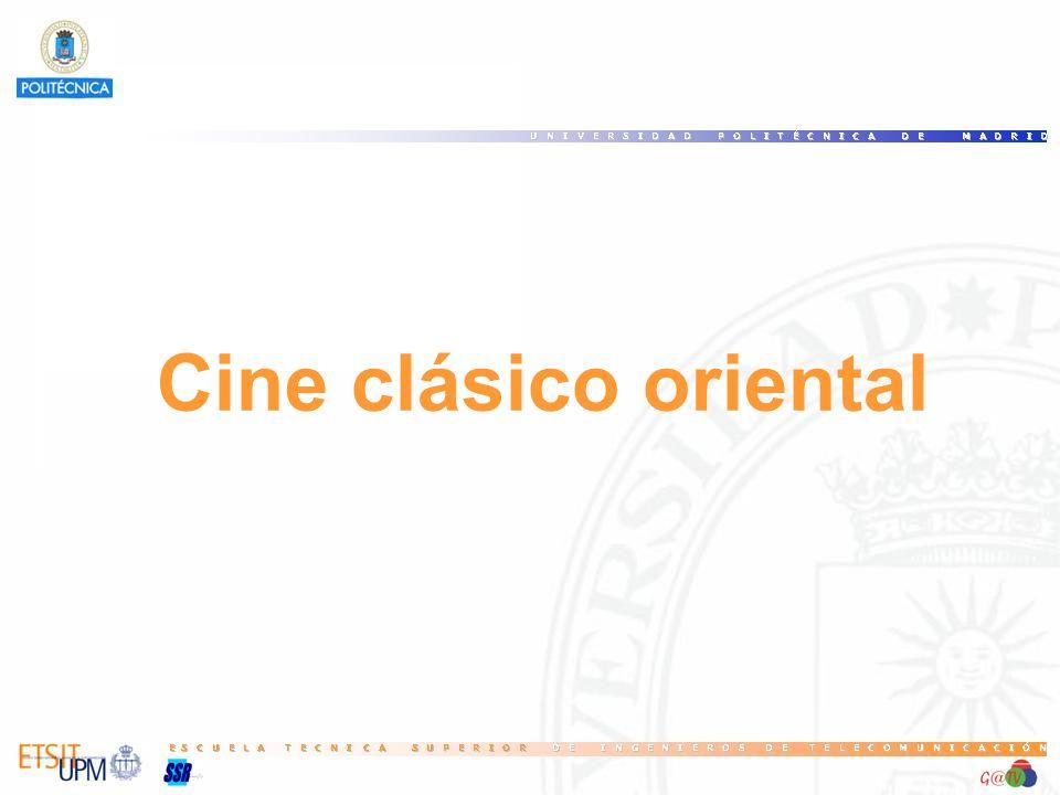 26 Cine clásico oriental
