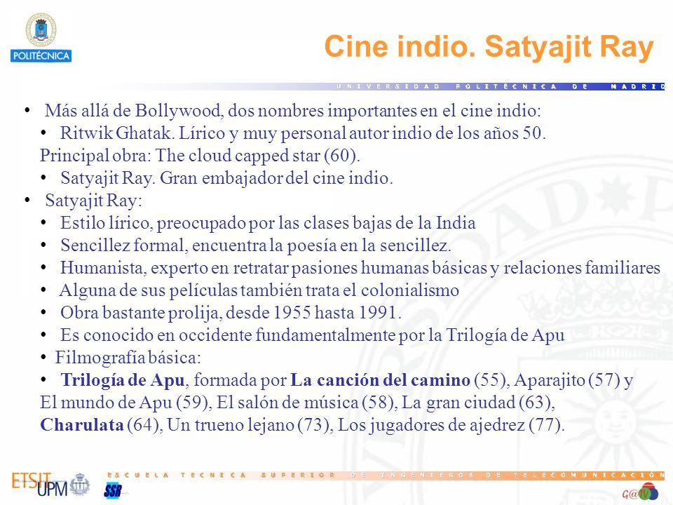 Cine indio. Satyajit Ray