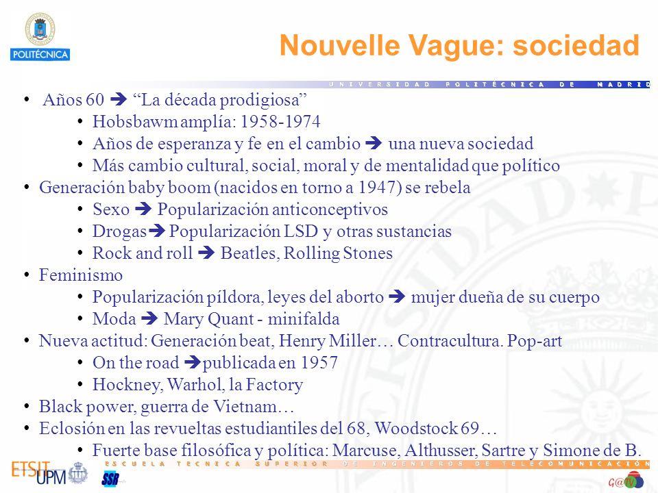 Nouvelle Vague: sociedad