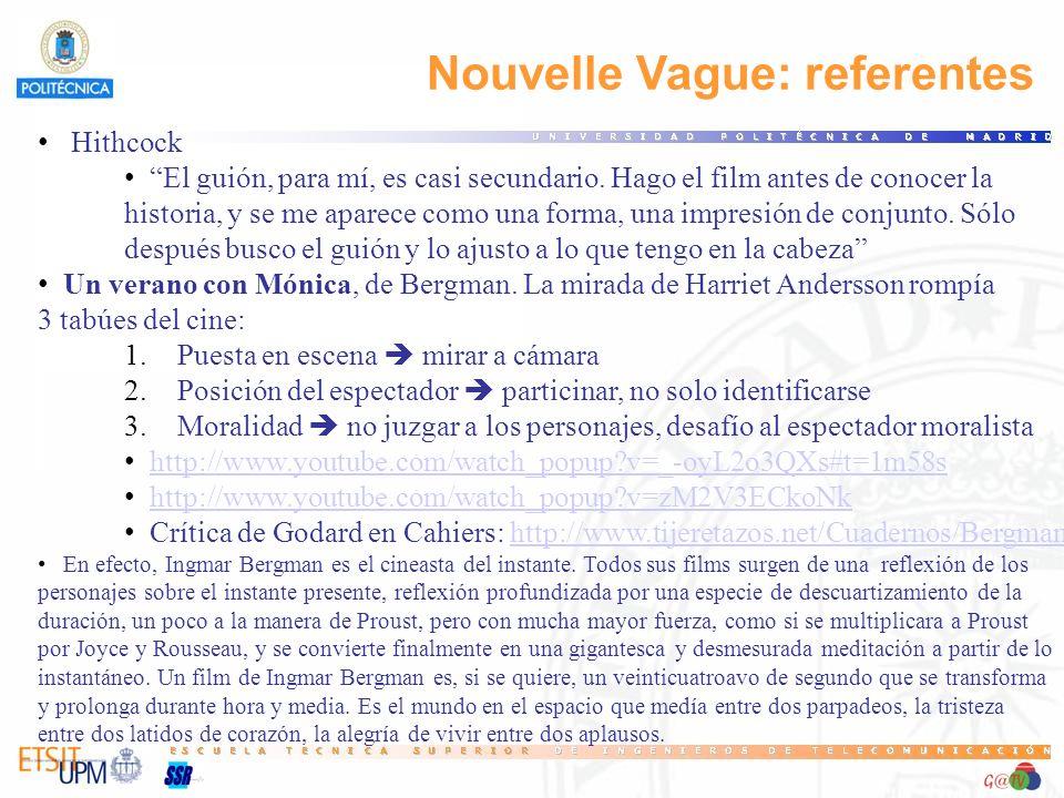 Nouvelle Vague: referentes