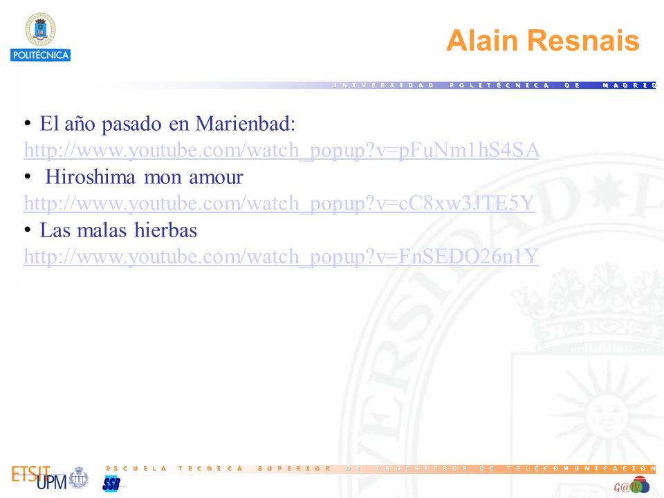 Alain Resnais El año pasado en Marienbad: