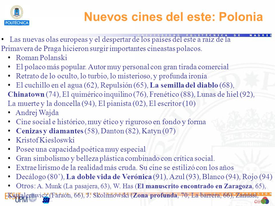 Nuevos cines del este: Polonia