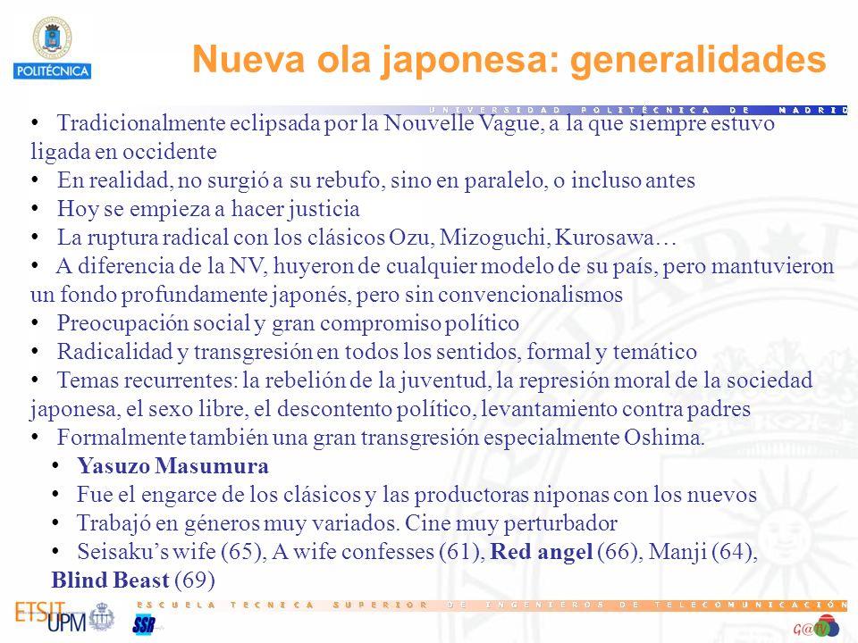 Nueva ola japonesa: generalidades