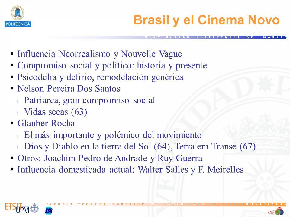 Brasil y el Cinema Novo Influencia Neorrealismo y Nouvelle Vague