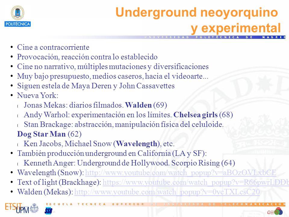 Underground neoyorquino y experimental