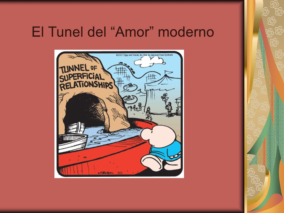 El Tunel del Amor moderno