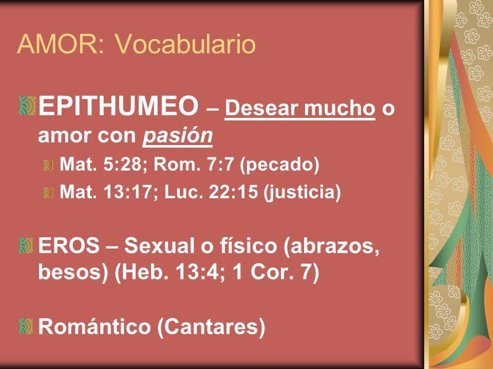 EPITHUMEO – Desear mucho o amor con pasión