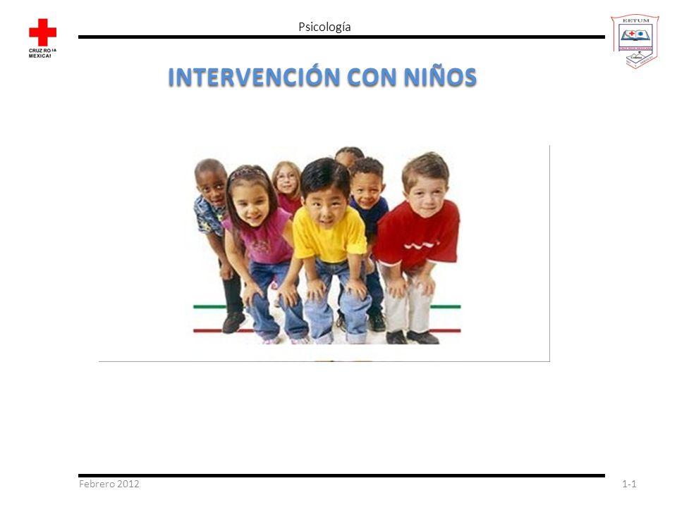 INTERVENCIÓN CON NIÑOS