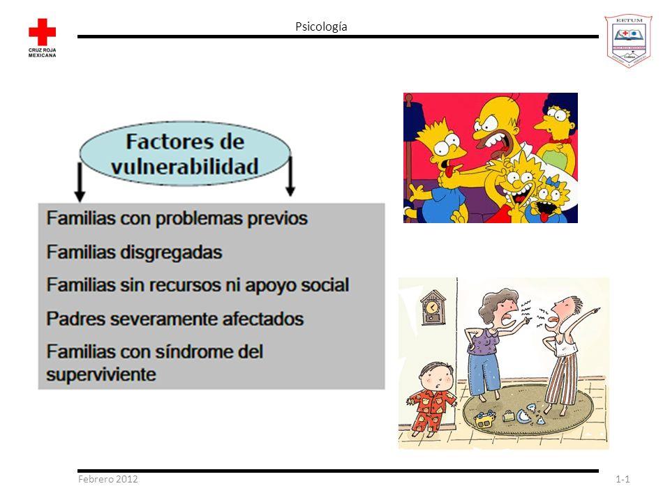 Psicología Febrero 2012