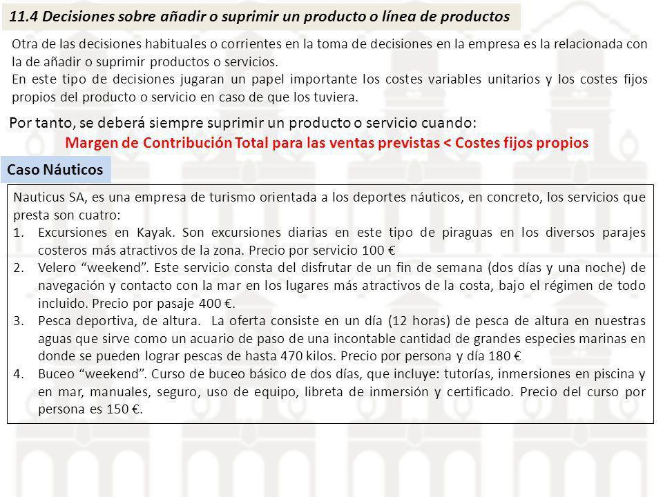 Por tanto, se deberá siempre suprimir un producto o servicio cuando: