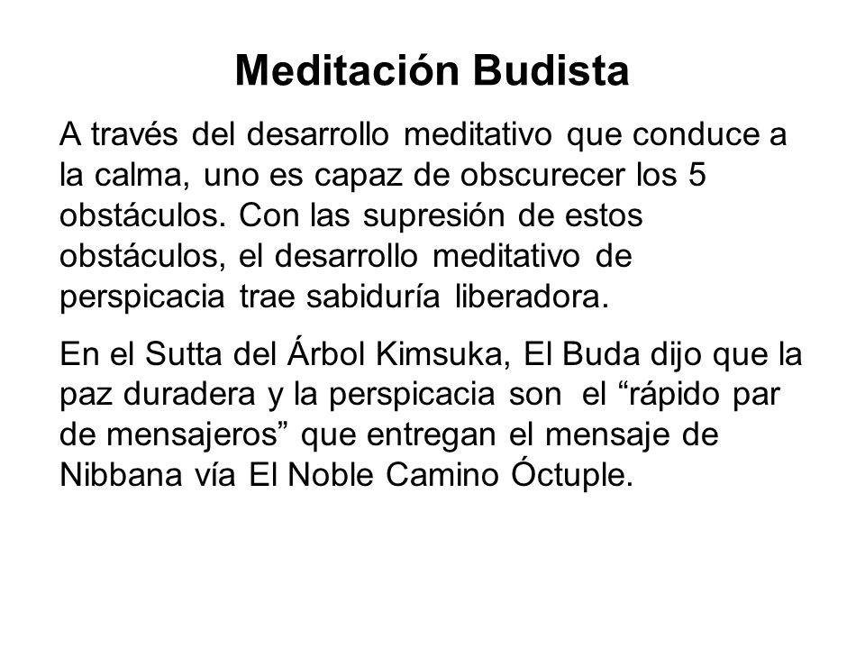 Meditación Budista
