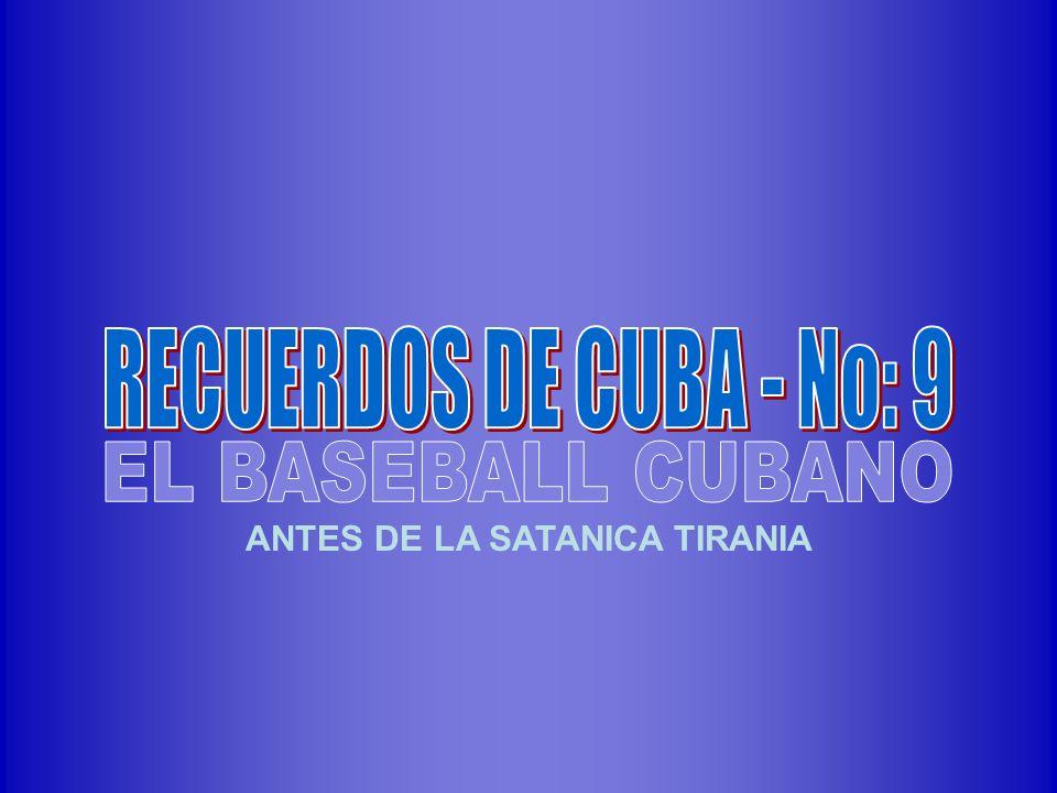 ANTES DE LA SATANICA TIRANIA