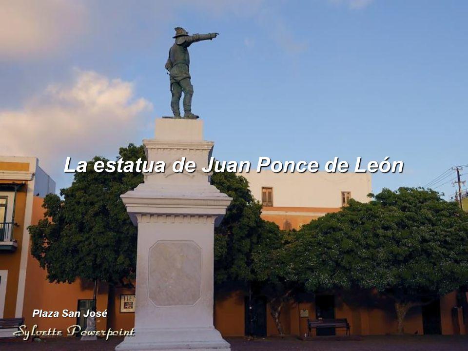 La estatua de Juan Ponce de León