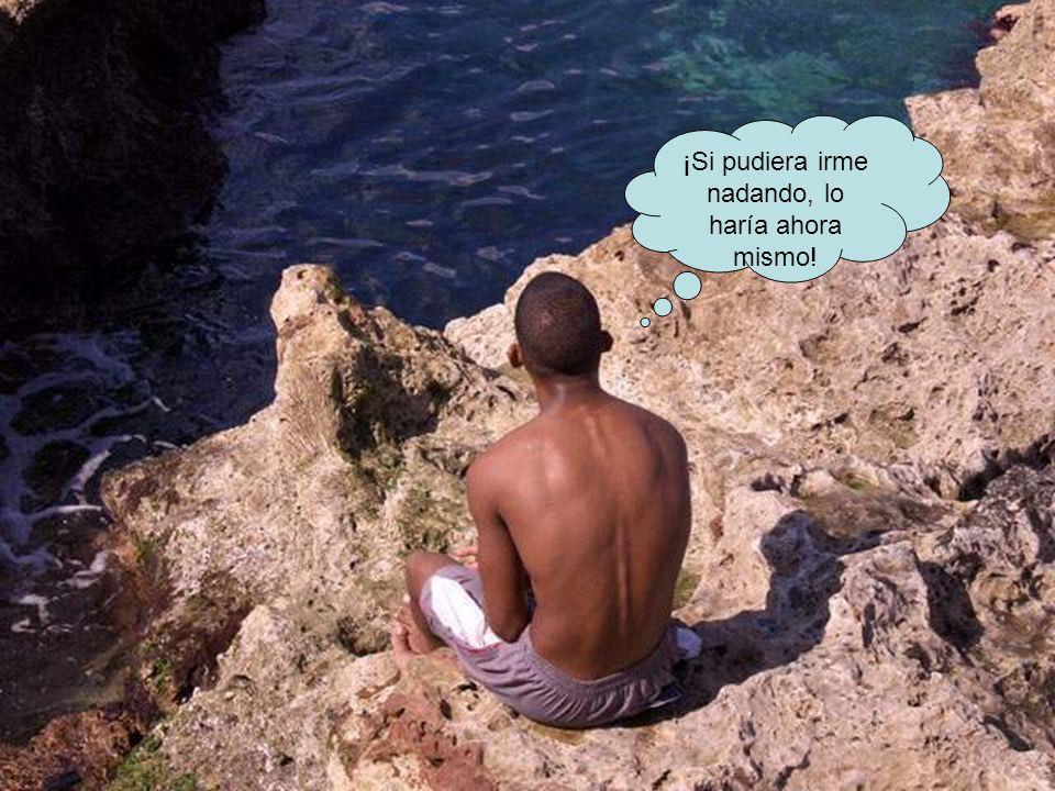 ¡Si pudiera irme nadando, lo haría ahora mismo!