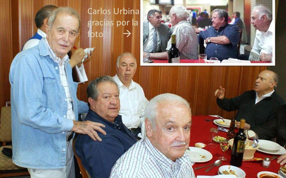 Carlos Urbina gracias por la foto 