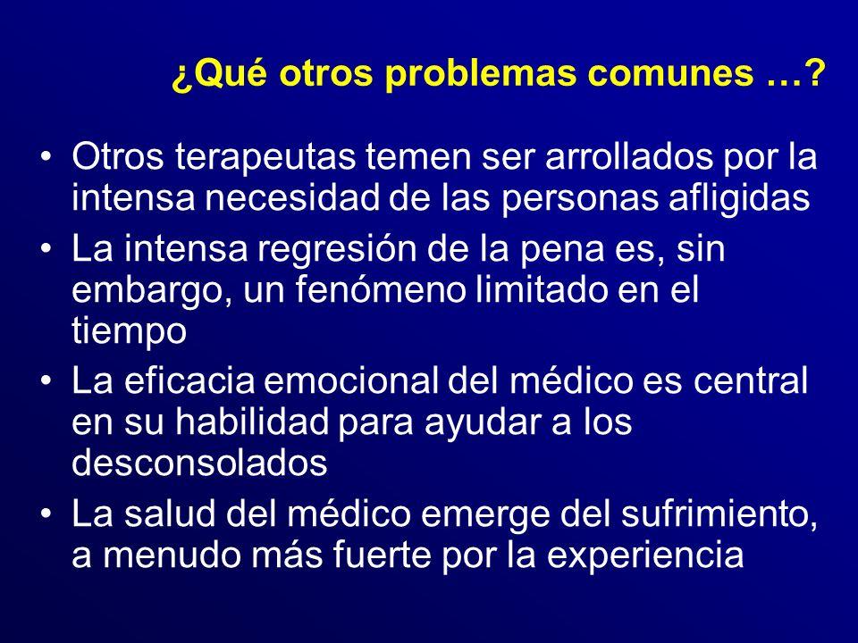 ¿Qué otros problemas comunes …