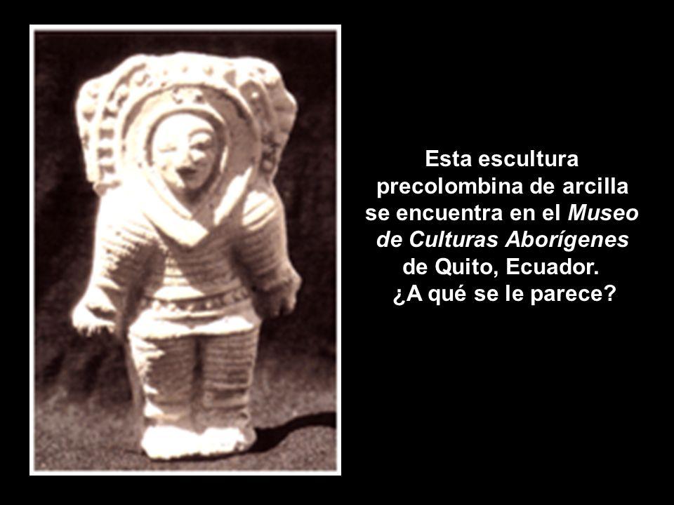 precolombina de arcilla se encuentra en el Museo