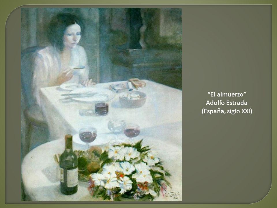 El almuerzo Adolfo Estrada (España, siglo XXI)