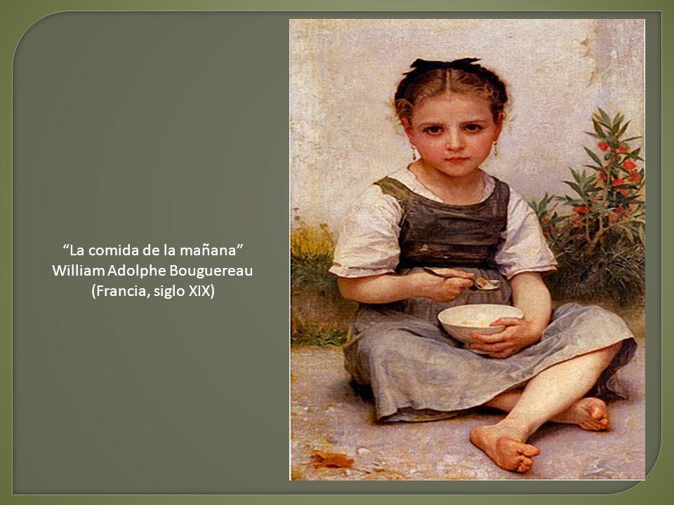 La comida de la mañana William Adolphe Bouguereau