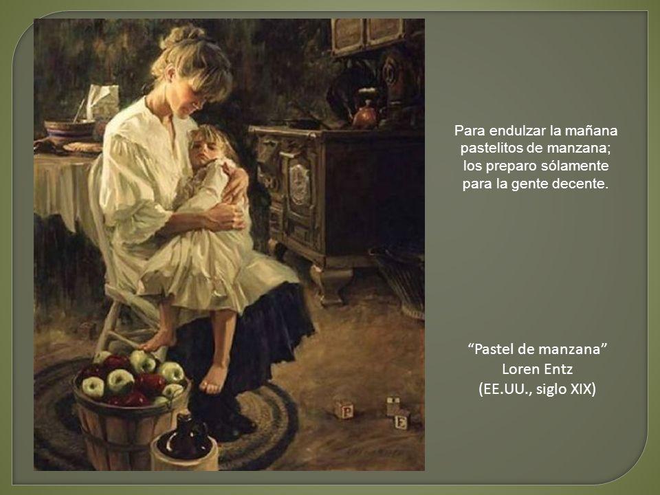 Pastel de manzana Loren Entz (EE.UU., siglo XIX)
