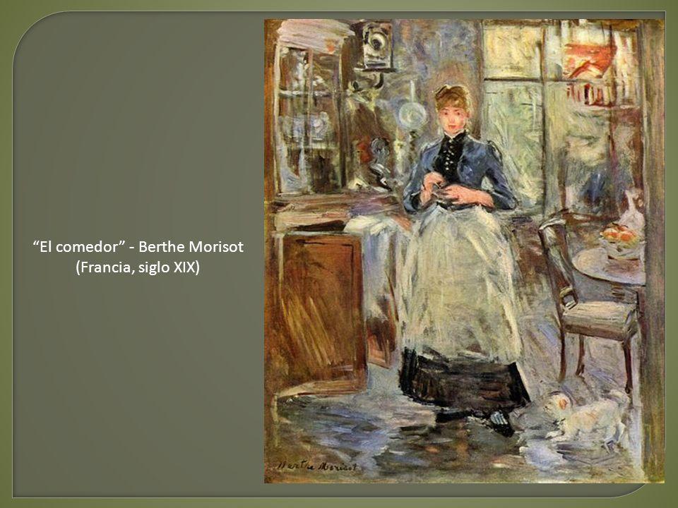 El comedor - Berthe Morisot