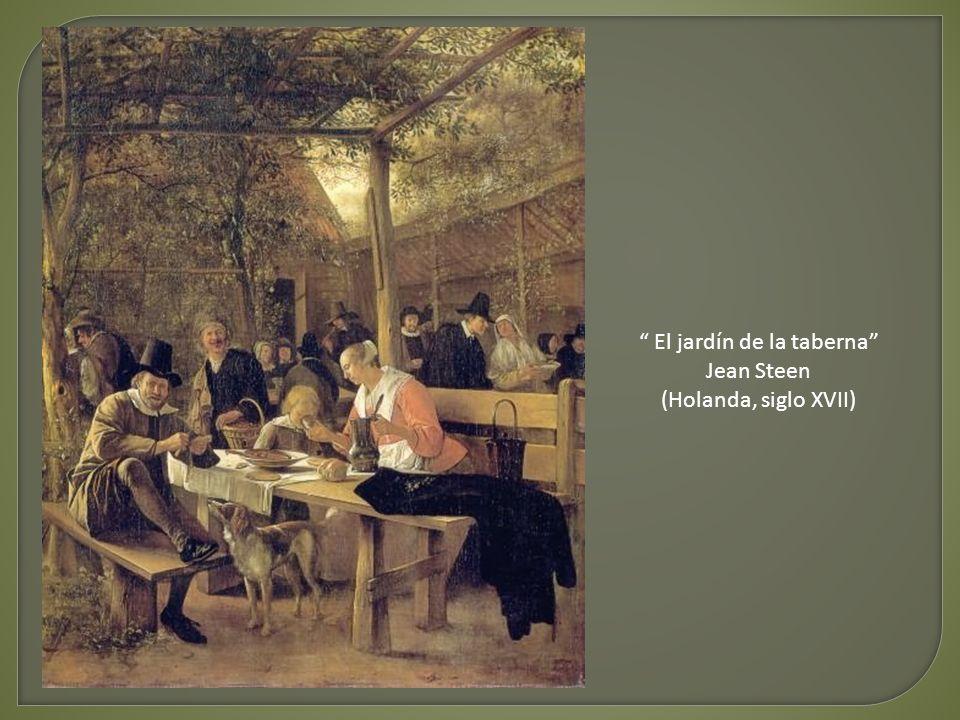 El jardín de la taberna