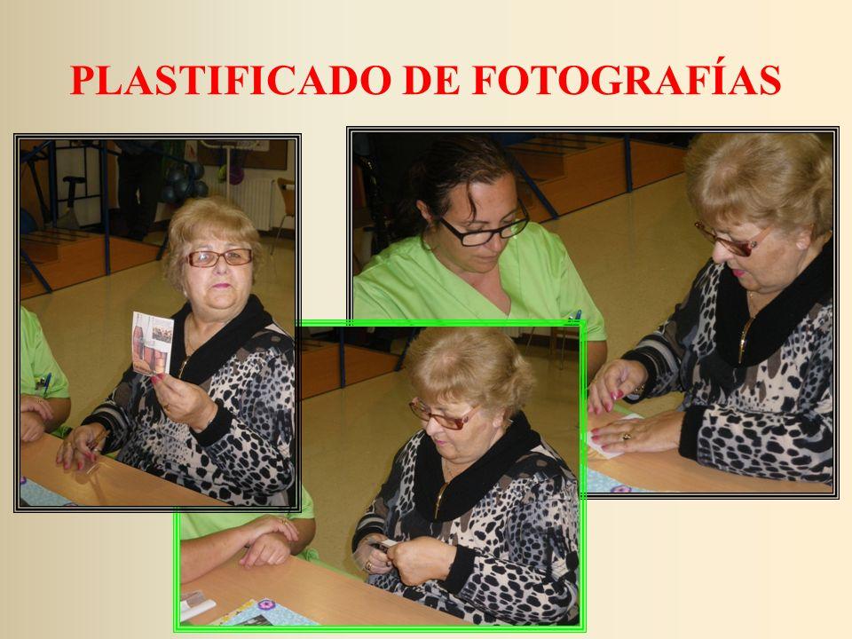 PLASTIFICADO DE FOTOGRAFÍAS