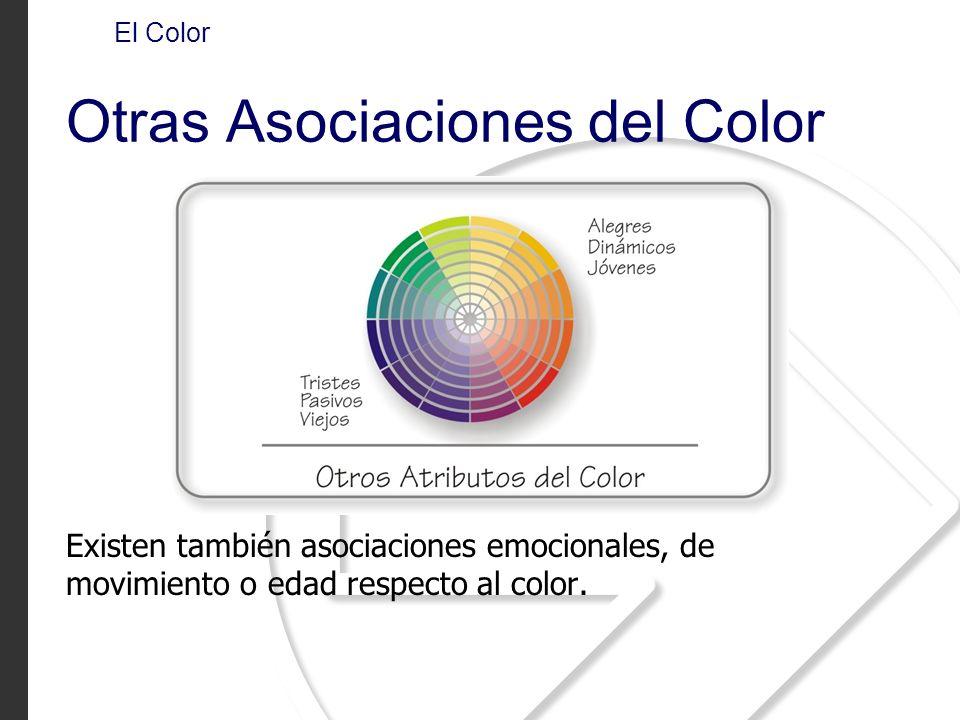 Otras Asociaciones del Color