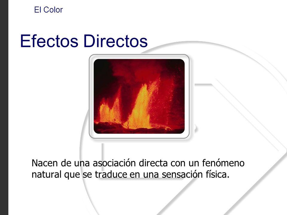 El Color Efectos Directos.