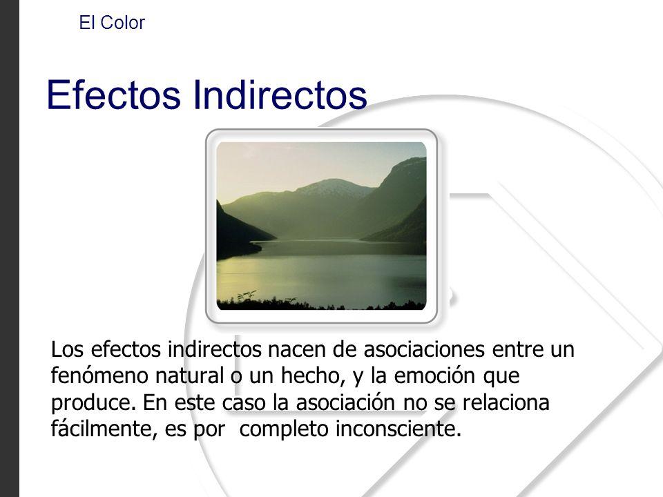 El Color Efectos Indirectos.