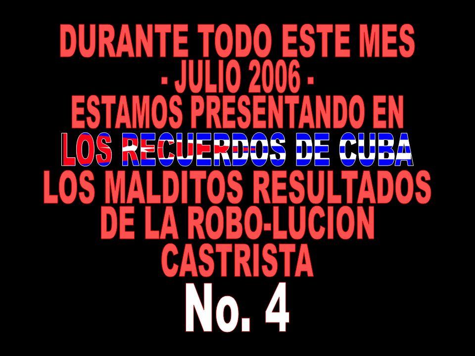 No. 4 DURANTE TODO ESTE MES - JULIO 2006 - ESTAMOS PRESENTANDO EN