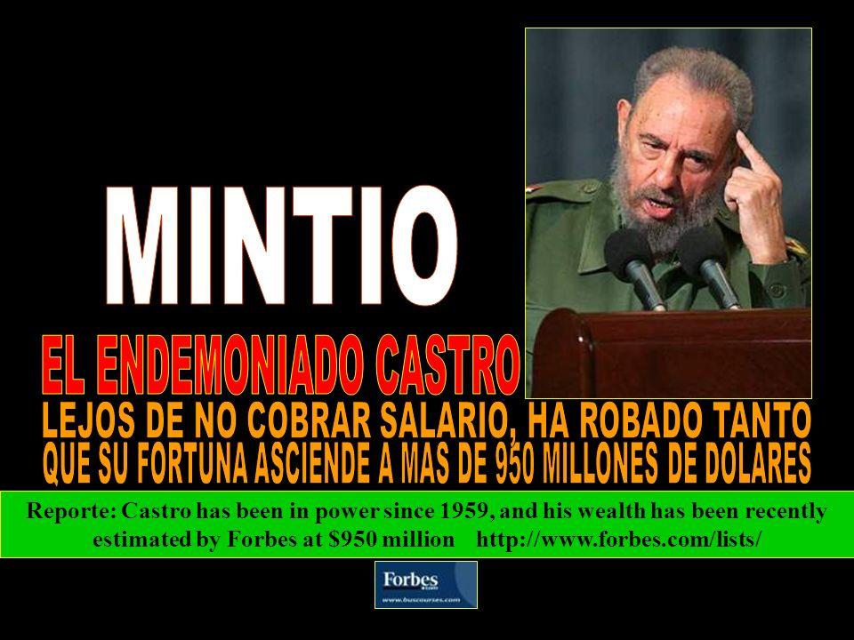 MINTIO EL ENDEMONIADO CASTRO