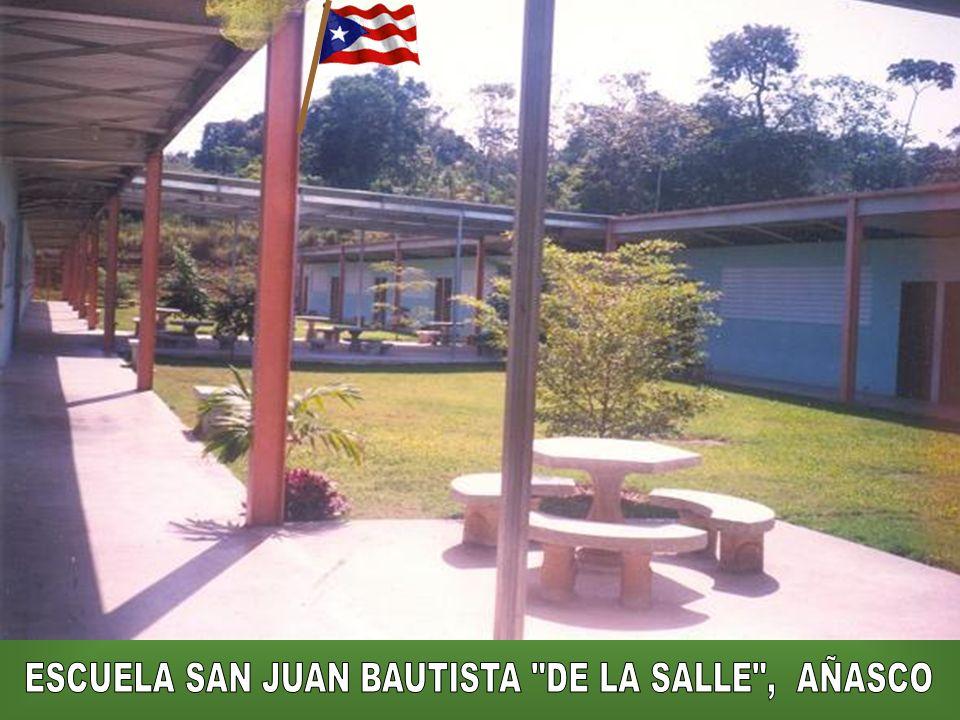 ESCUELA SAN JUAN BAUTISTA DE LA SALLE , AÑASCO