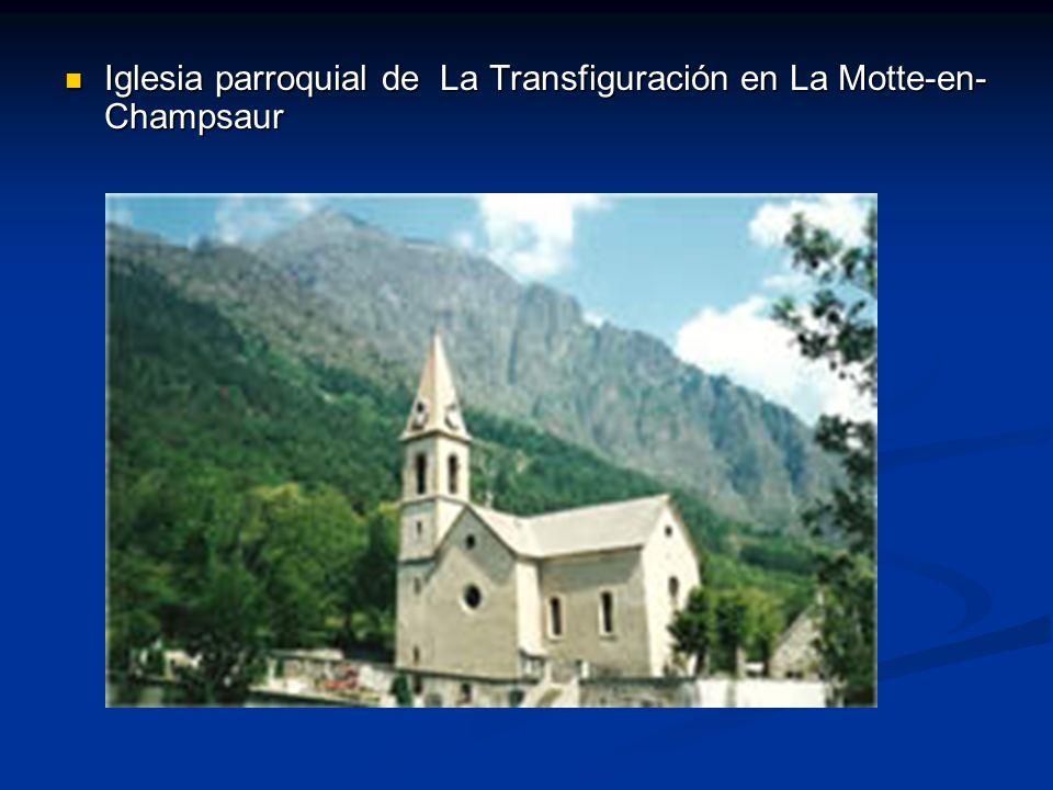 Iglesia parroquial de La Transfiguración en La Motte-en-Champsaur