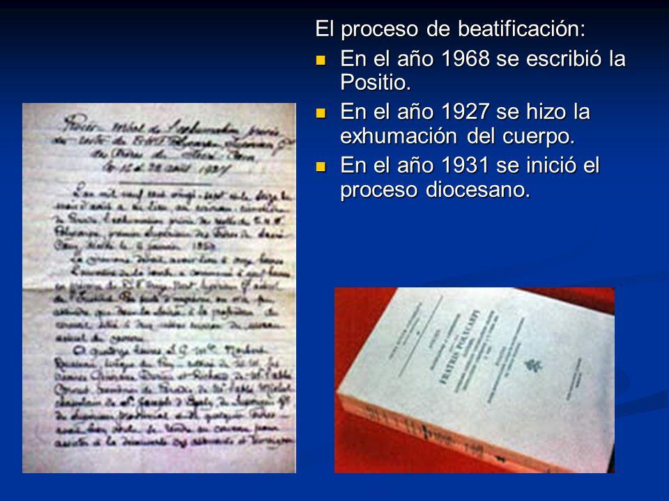 El proceso de beatificación: