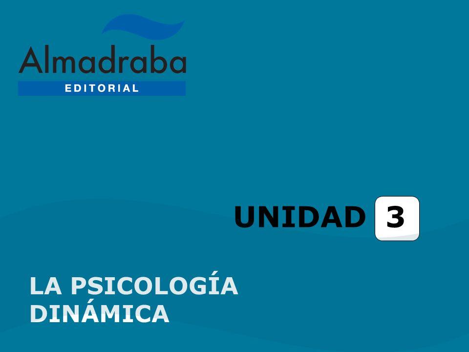 UNIDAD 3 LA PSICOLOGÍA DINÁMICA