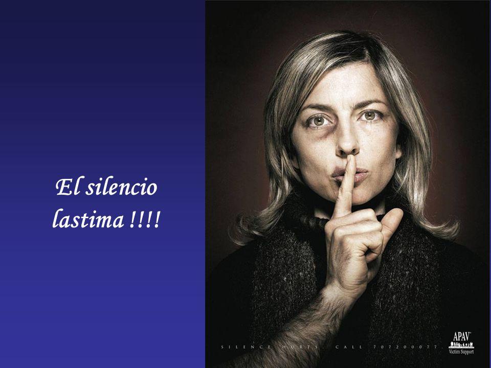 El silencio lastima !!!!
