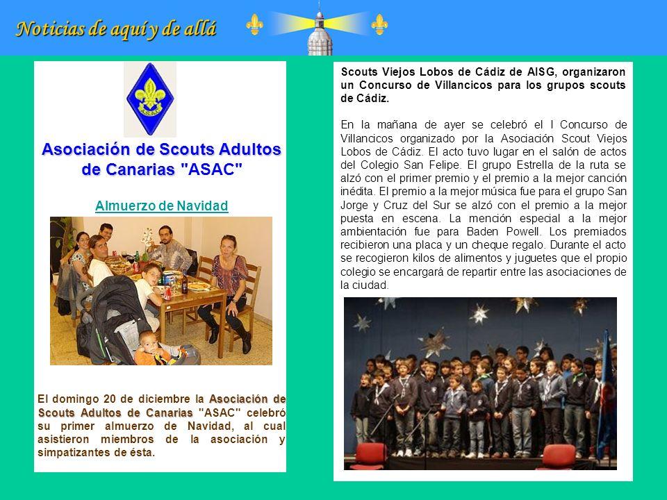 Asociación de Scouts Adultos de Canarias ASAC